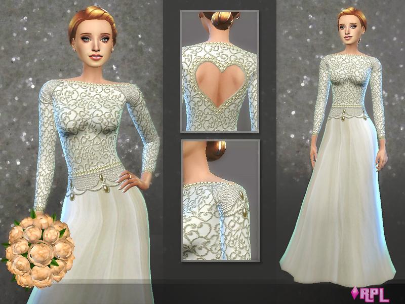 RobertaPLobo's Vintage Champagne Wedding Dress