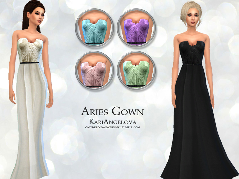 Sims 4 Downloads - \'gown\'