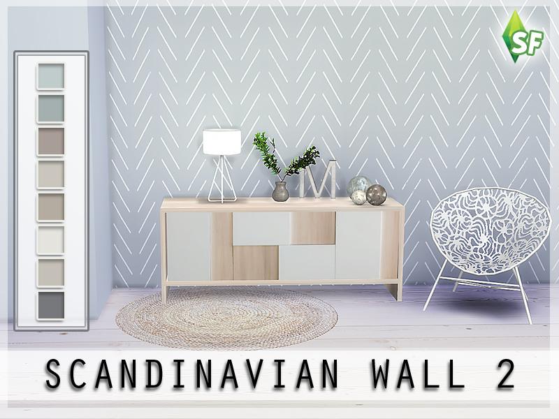 Simfabulous Scandinavian Wall Set