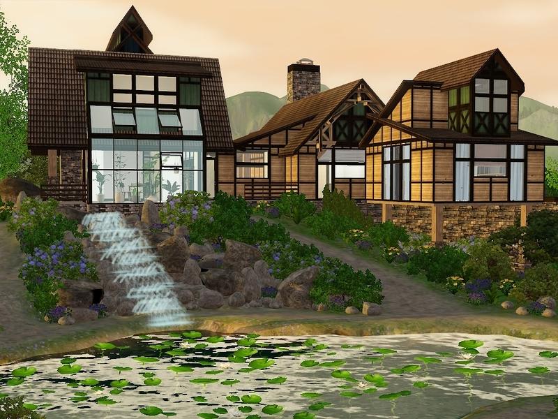 Timi72 S Rustic Mountain Lodge