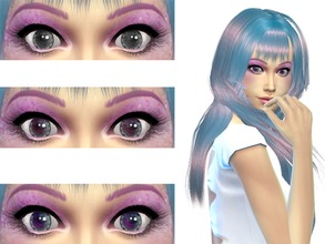 Sims 4 Eye Colors - 'pink'