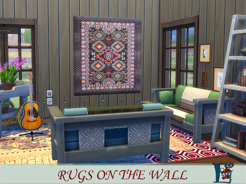 Evi S Rugs On The Wall