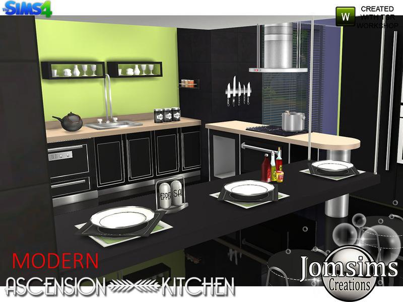jomsims Modern Ascension Kitchen