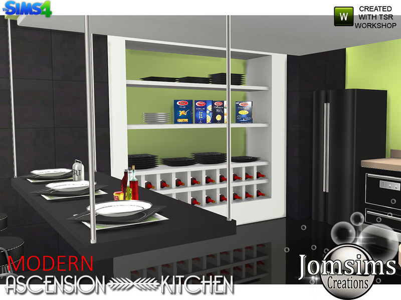 Jomsims Modern Ascension Kitchen