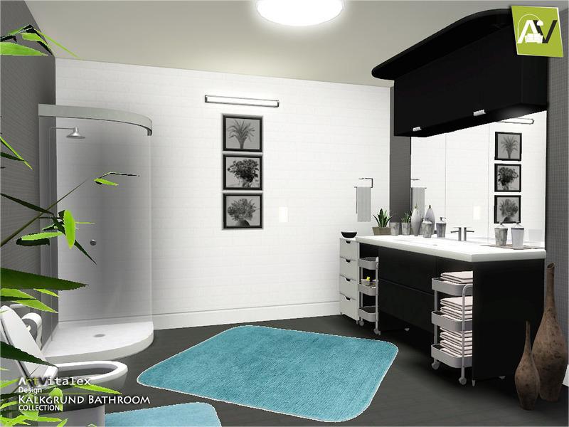 Artvitalex 39 s kalkgrund bathroom for Bathroom ideas sims 3