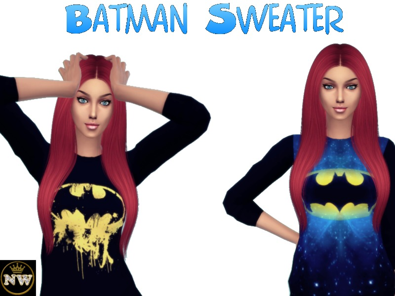 49147c7df87f Naddiswelt s Batman Sweater - mesh needed