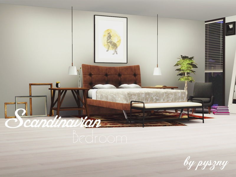 scandinavian bedroom furniture.  pyszny16 s Scandinavian Bedroom