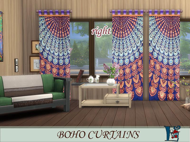 Evis Boho Style Curtains