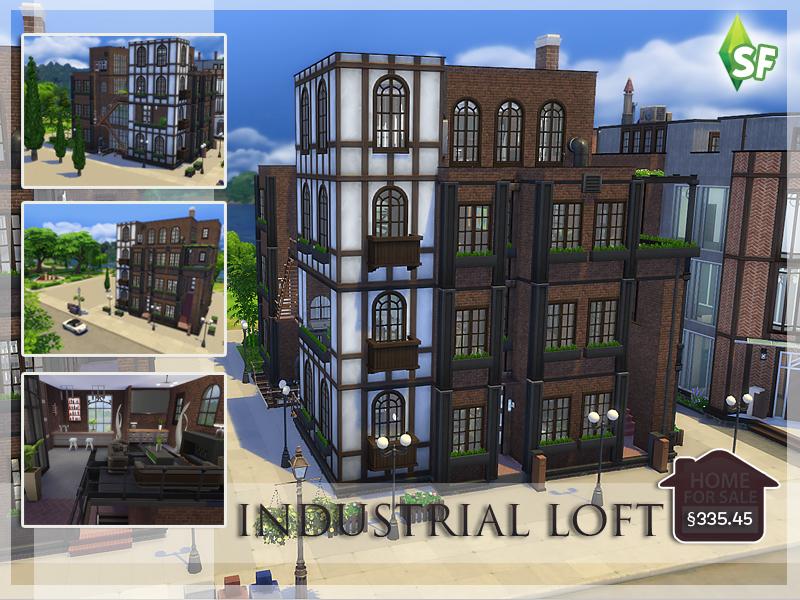 Simfabulous Industrial Loft