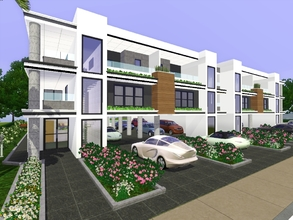 Sims 3 Downloads modern houses