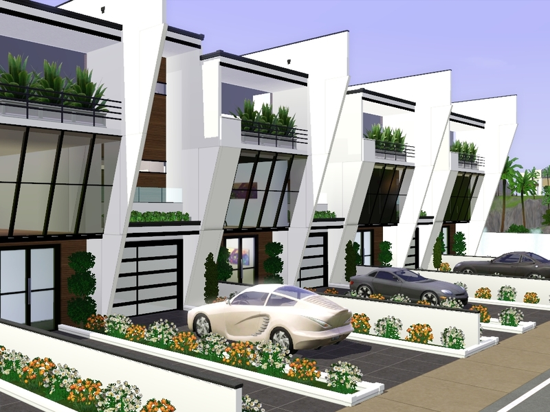Gabi89 39 S Modern Row House Ii