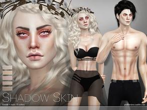 Sims 4 Skintones - 'vampire'