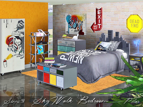 SkyWalk Bedroom by Pilar