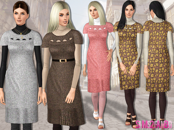 445 - Knitwear outfit by sims2fanbg