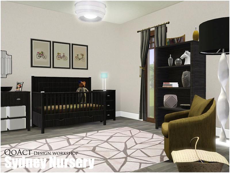 Sims 3 Baby Bedrooms Qoact S Sydney Nursery