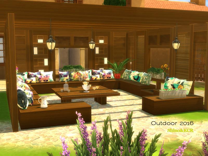 Shinokcr 39 s outdoor 2016 for Indoor gardening sims 4