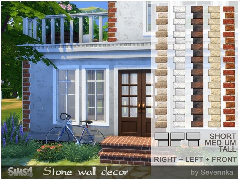 Severinka_\'s Stone wall decor