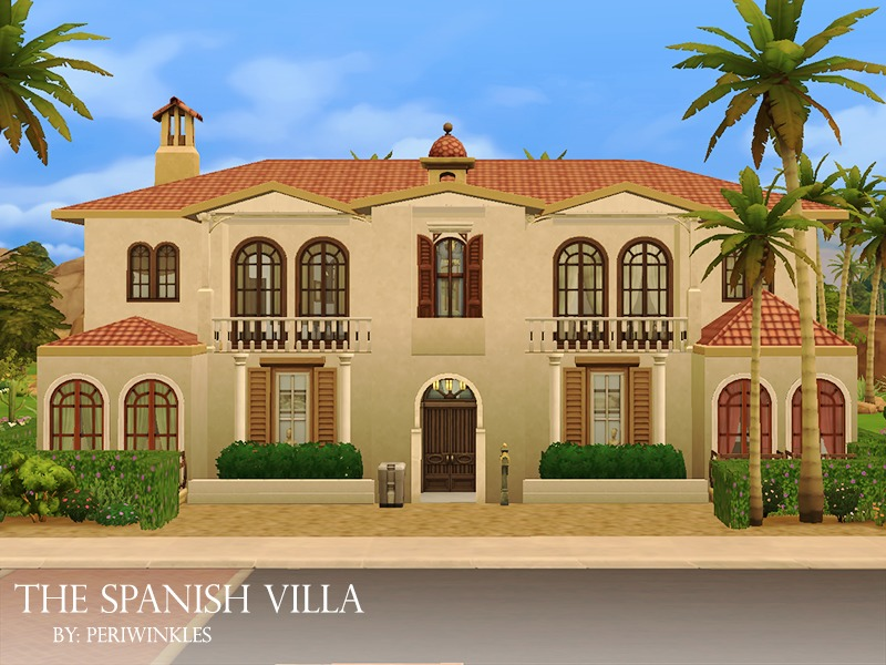 Periwinkles 39 the spanish villa no cc for Spanish villa house