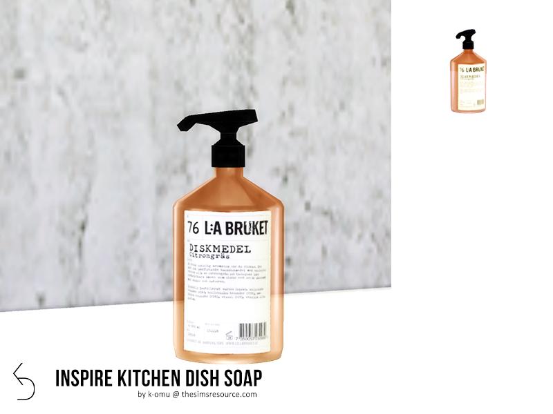 k-omu\'s INSPIRE Kitchen Dish Soap