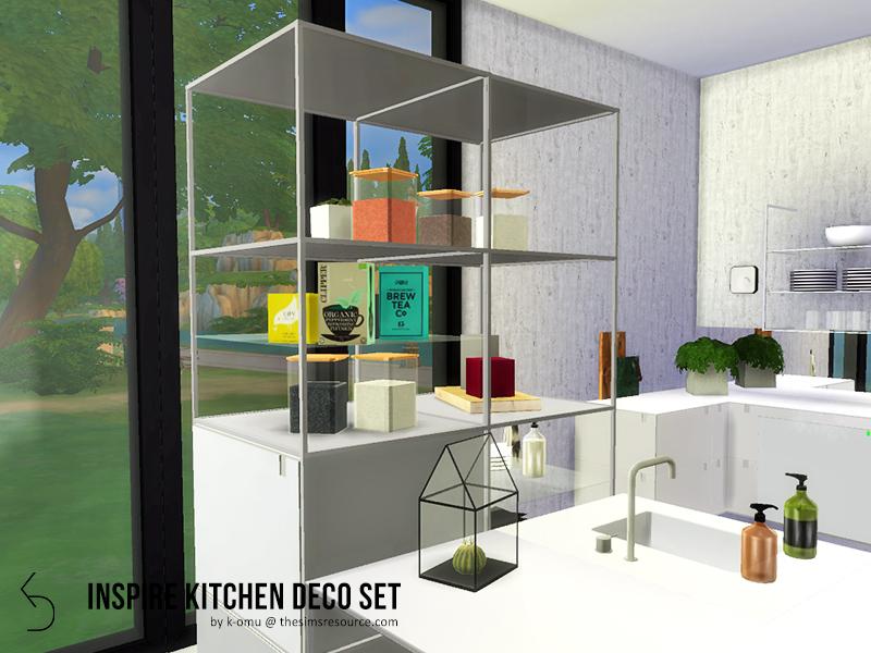 k-omu's INSPIRE Kitchen Deco Set
