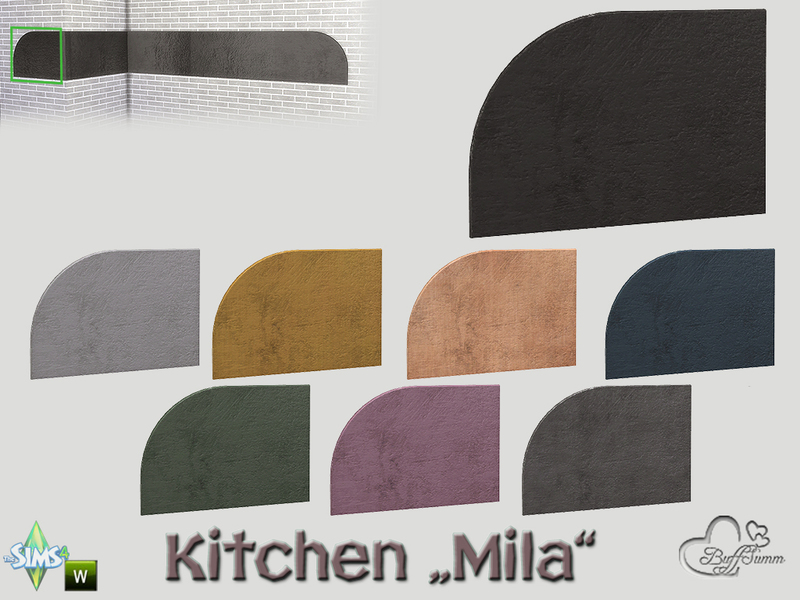 Buffsumm 39 s kitchen mila backboard left end - Kitchen backboards ...