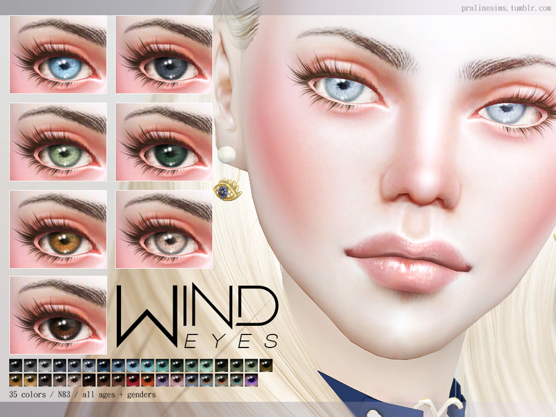 Pralinesims' Wind Eyes N83
