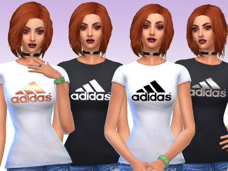 sims 4 adidas t shirt