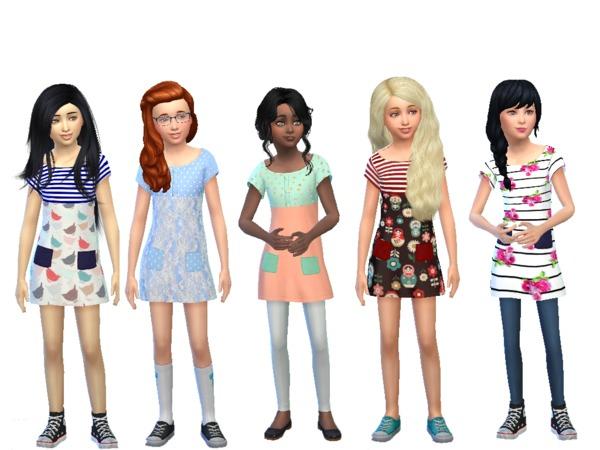 Zawartość Zmodyfikowana The Sims 4 Mody Ubranka Dla