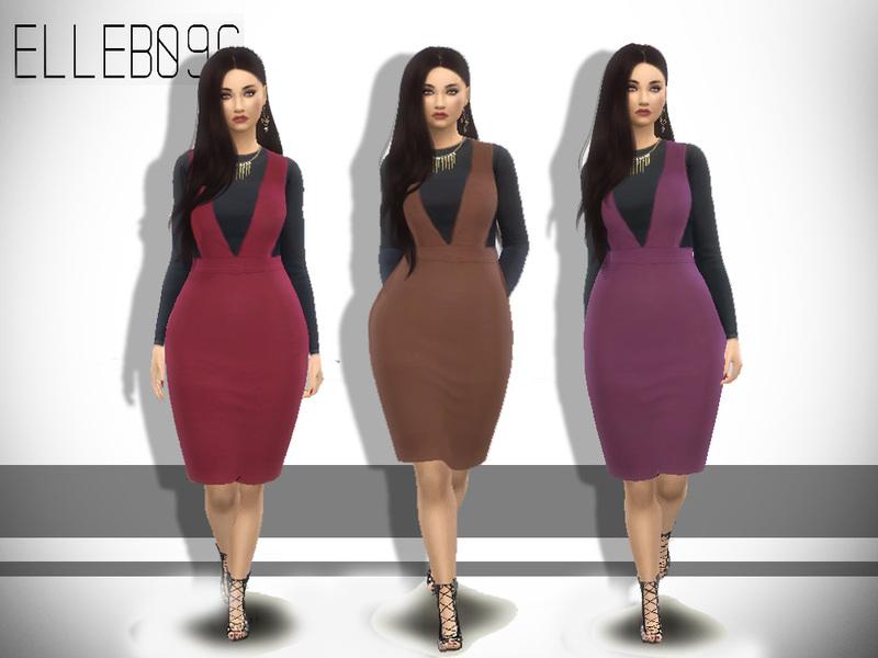 Elleb096s Overall Dress Base Game