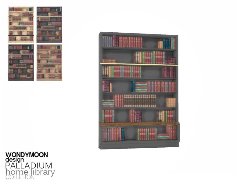 Wondymoons Palladium Bookshelf