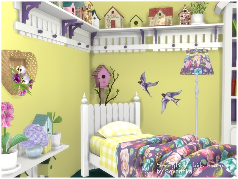 Severinka_\'s Kids bedroom \'Spring Birds\'