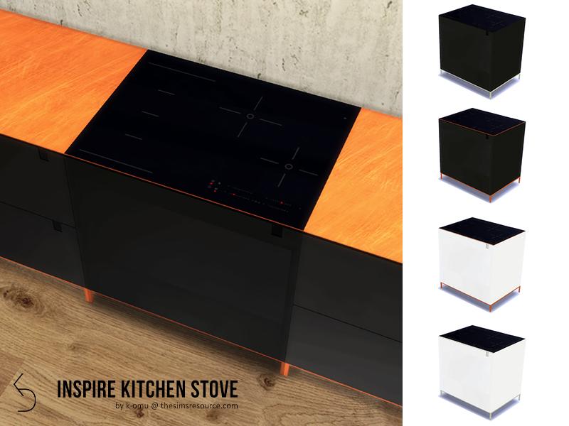 k-omu's INSPIRE Kitchen Stove