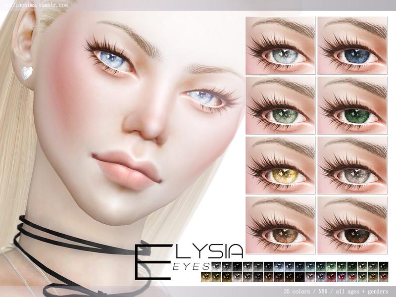 Pralinesims Elysia Eyes N86