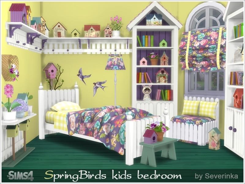 Severinka_\'s Kids bedroom \'Spring Birds\'