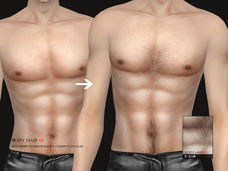 sims 4 body hair mod