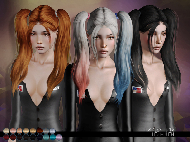 Leah Lilliths Leahlillith Harley Hair