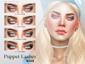 Sims 4 Downloads - 'lashes'