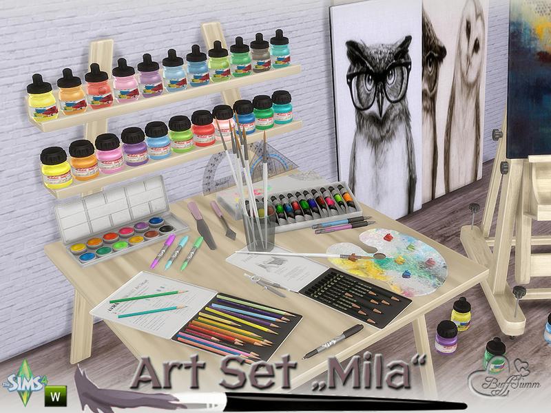 BuffSumms Mila Art Hobby Set