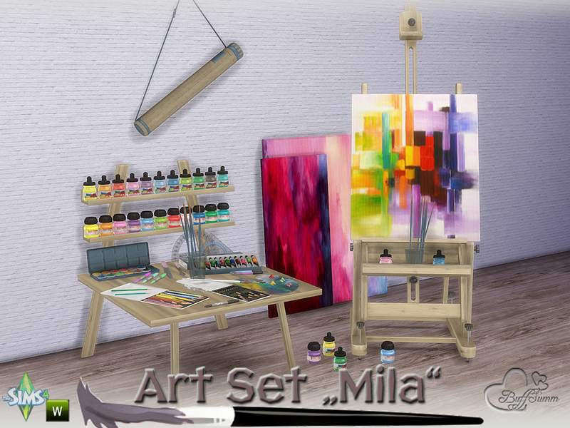 Buffsumm S Mila Art Hobby Set