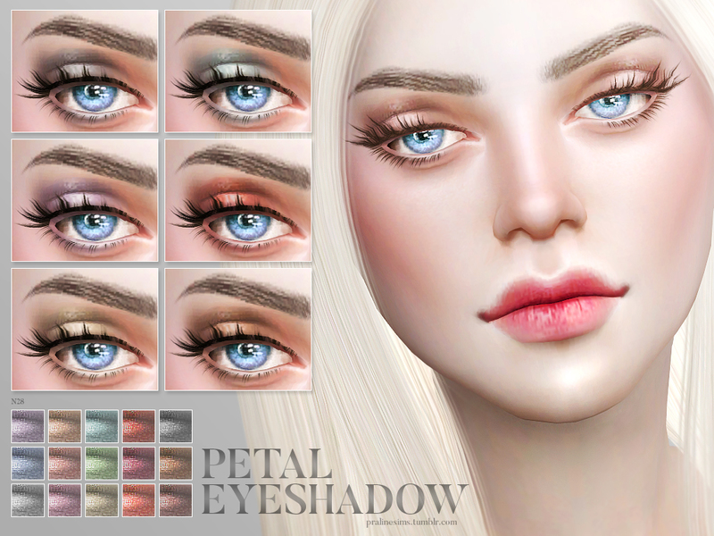 Sims 4 eye makeup