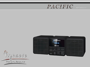 Sims 3 — Pacific Heights Sound System by NynaeveDesign — Pacific Heights Bedroom - Sound System Located in: Electronics -