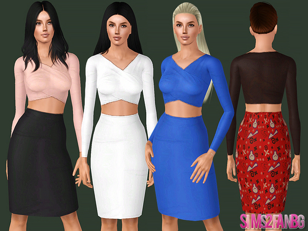 452 - Party dress by sims2fanbg