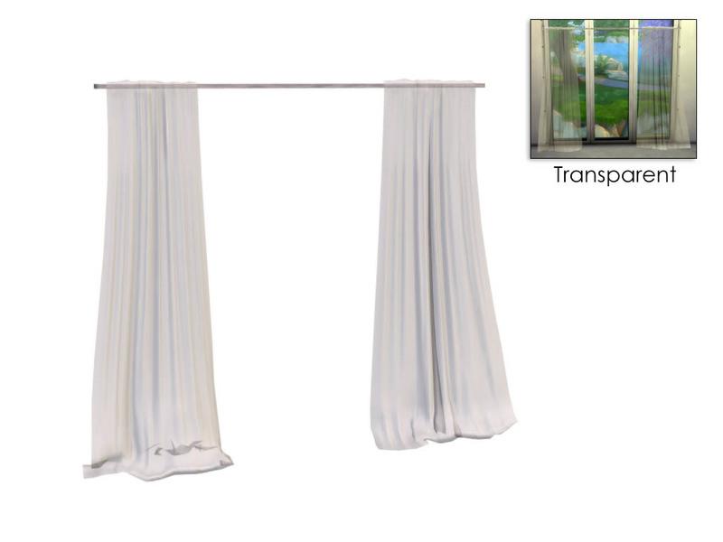 Sim Man123 S Emerson Sheer Curtains