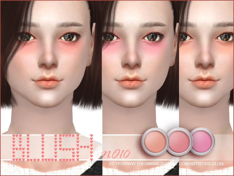 s club wm ts4 blush 10