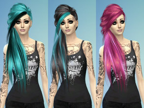 Sims 4 Hairstyles Emo
