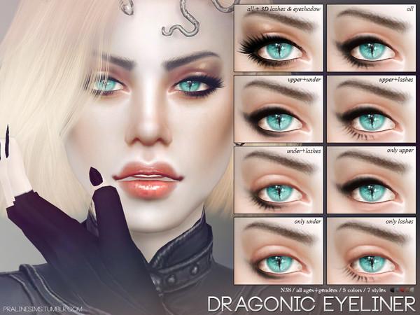 Pralinesims Dragonic Eyeliner N38