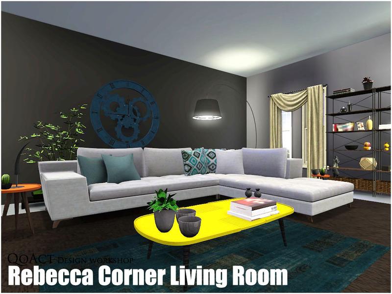 QoAct\'s Rebecca Corner Living Room