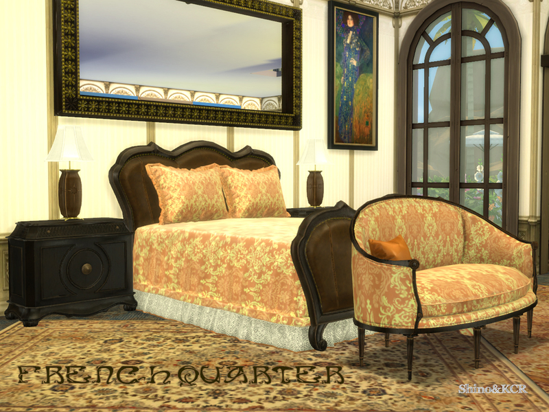 Shinokcr S French Quarter Bedroom