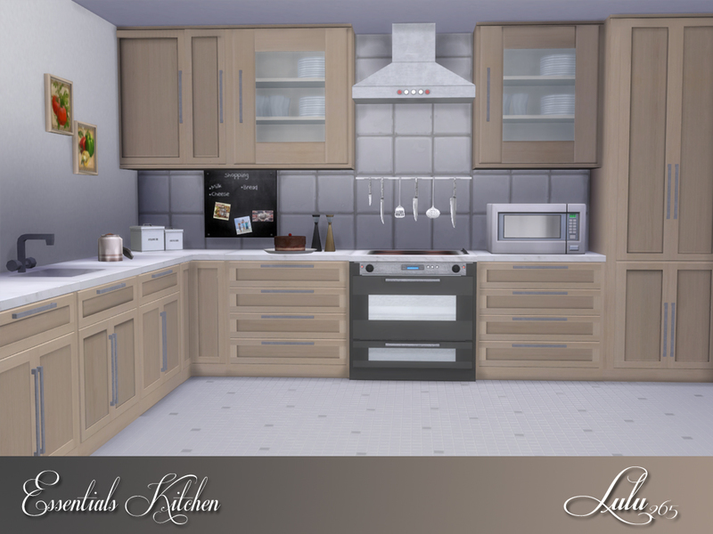 Inspiration 23+ Kitchen Cabinets The Sims 4