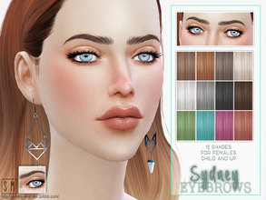 Sims 4 — [ Sydney ] - Female Brows by Screaming_Mustard — More female brows! This time they are well groomed, small and